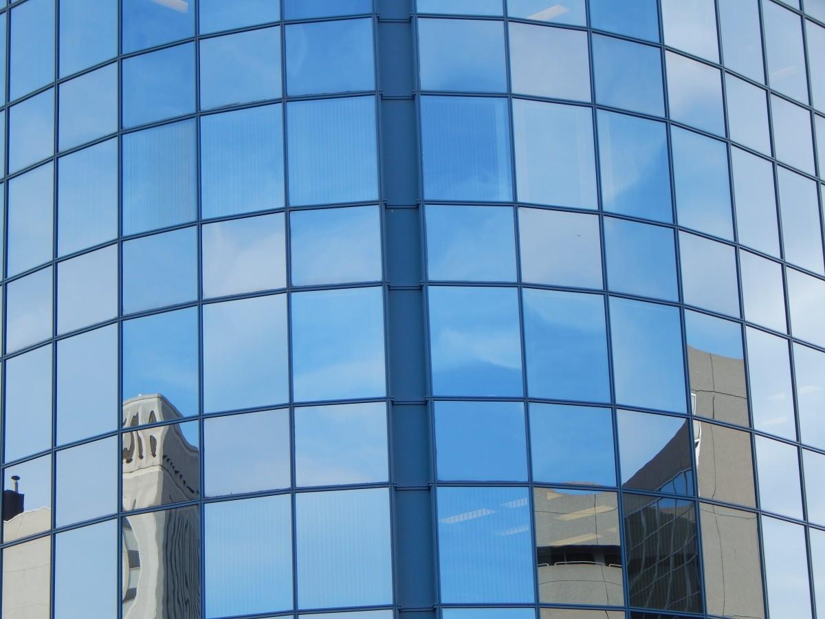 Glass Building Light : Free images window windows blue building glass city