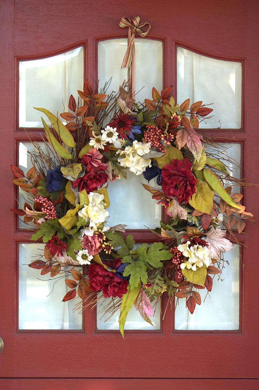 Blumen Bilderrahmen kostenlose foto blume blumen dekoration herbst dekor kranz