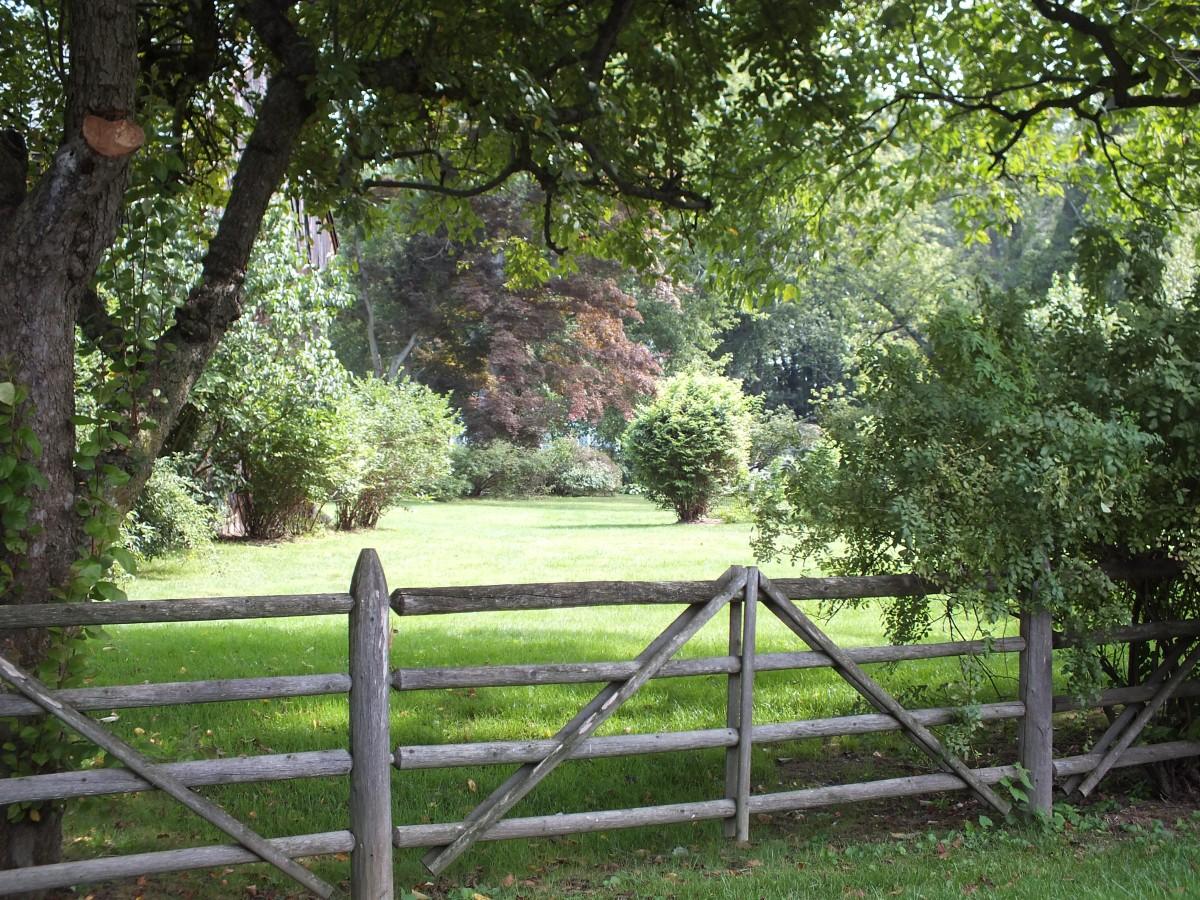 Kostenlose foto landschaft baum gras zaun holz feld - Bauernhof garten ...