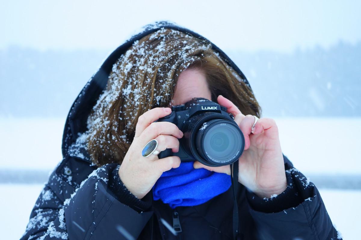 настройка фотоаппарата для зимней фотосессии рад