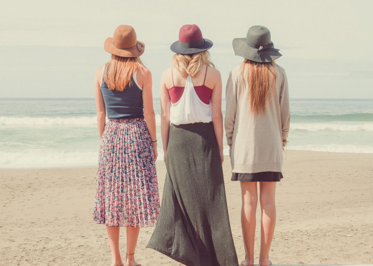 В чем ходить на пляж фото