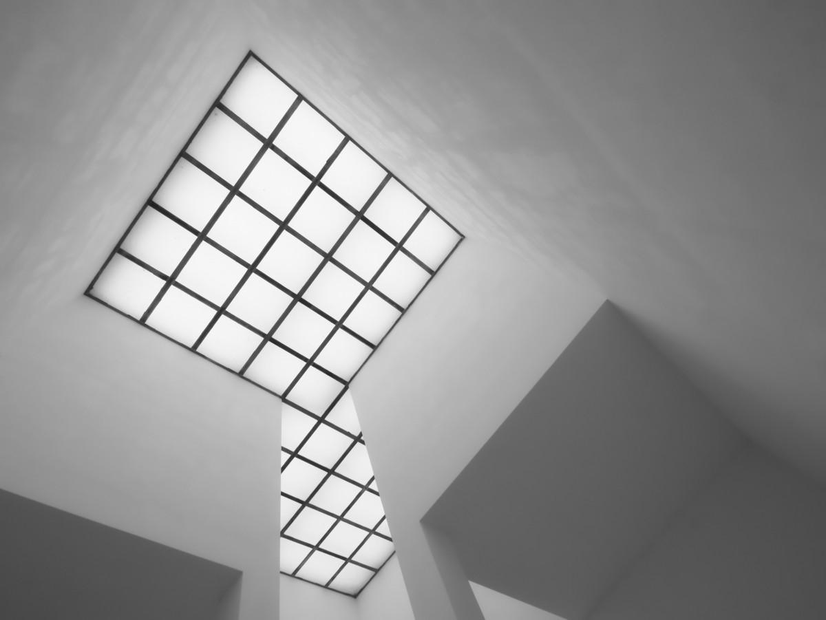 Images gratuites noir et blanc structure gratte ciel for Architecture noir et blanc