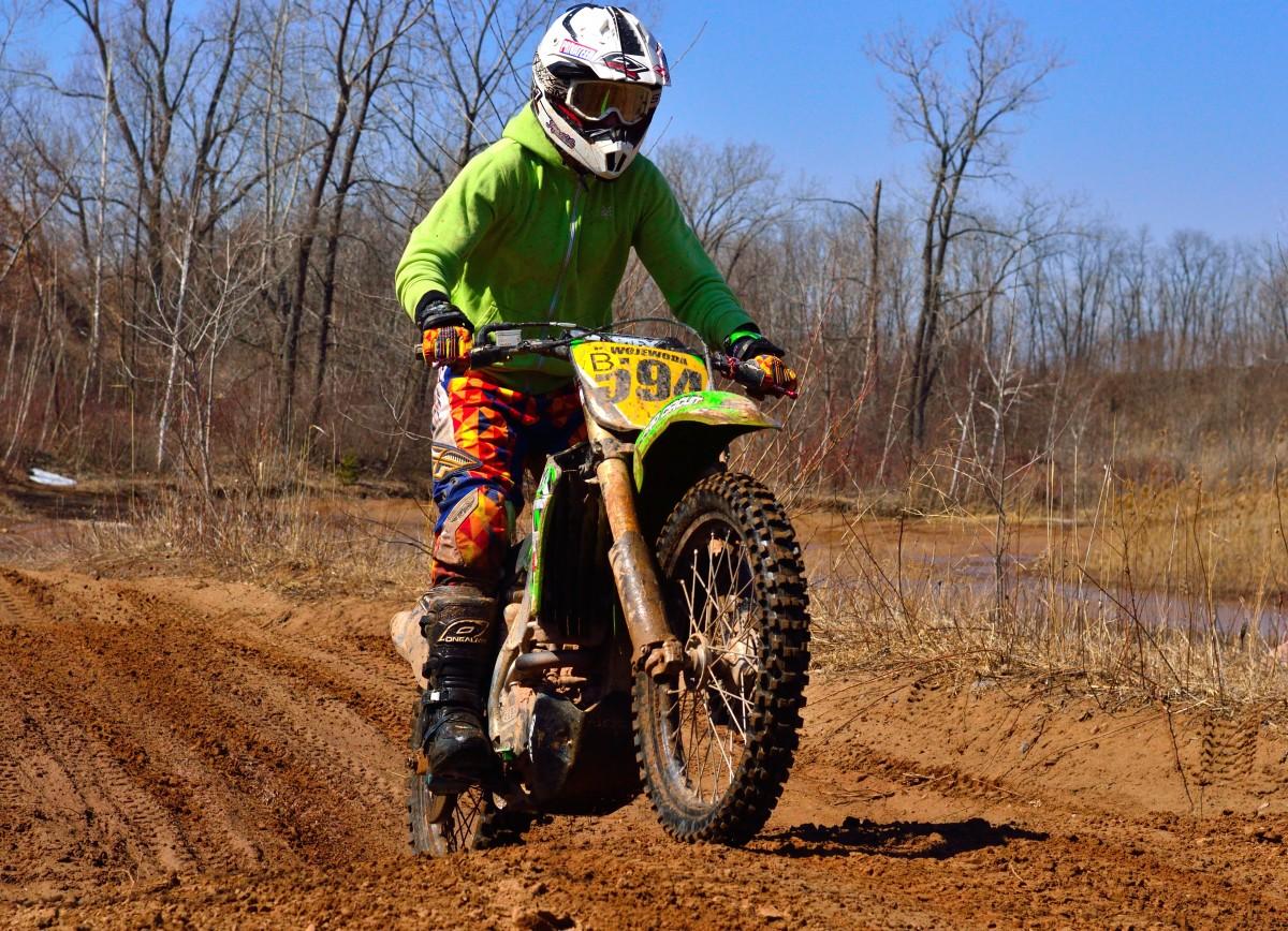 motocross e perigoso