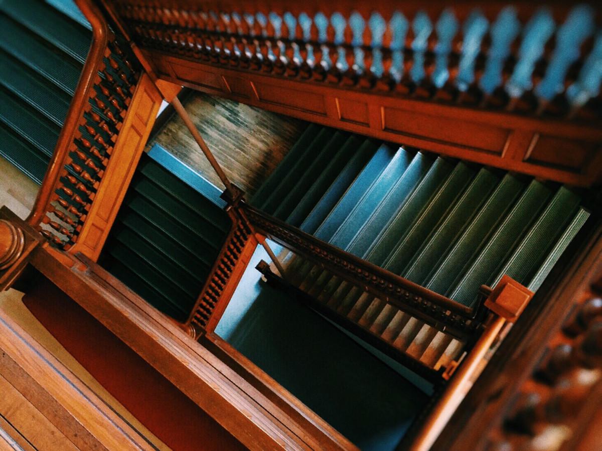 Images gratuites architecture bois escalier couleur for Fenetre informatique