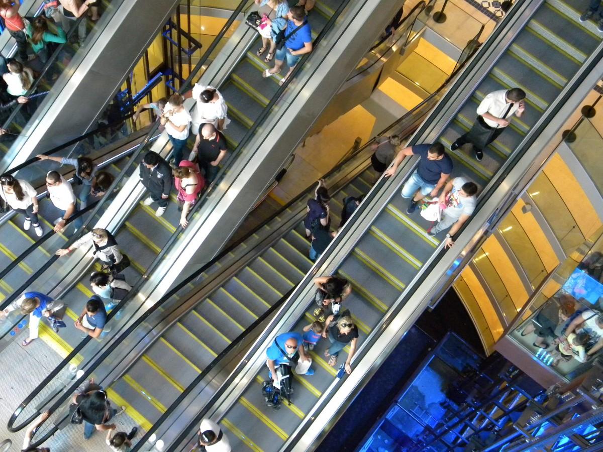 Free images structure escalator shop store public - Apple store marseille terrasse du port ...