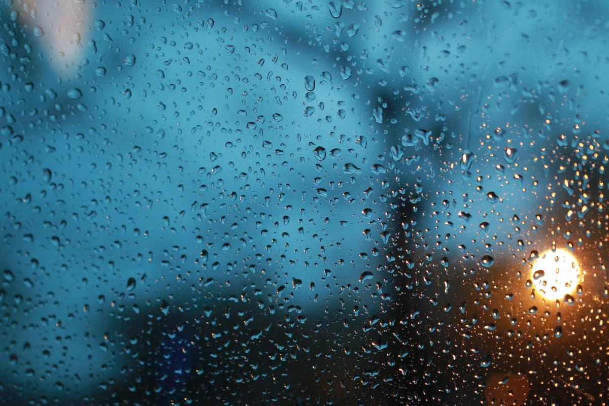 Открытки, картинка с каплями дождя