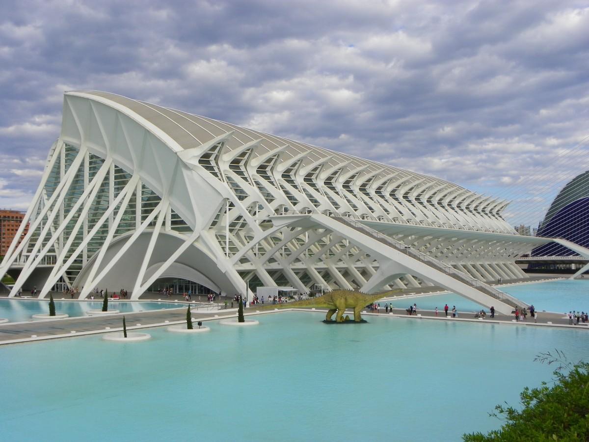 Kostenlose foto die architektur struktur br cke for Architektur valencia