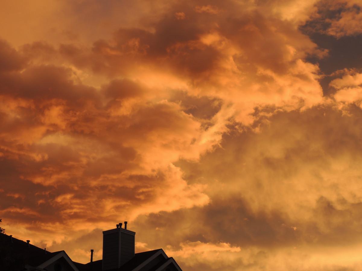 Free Images : outdoor, cloud, sunrise, sunset, night ...
