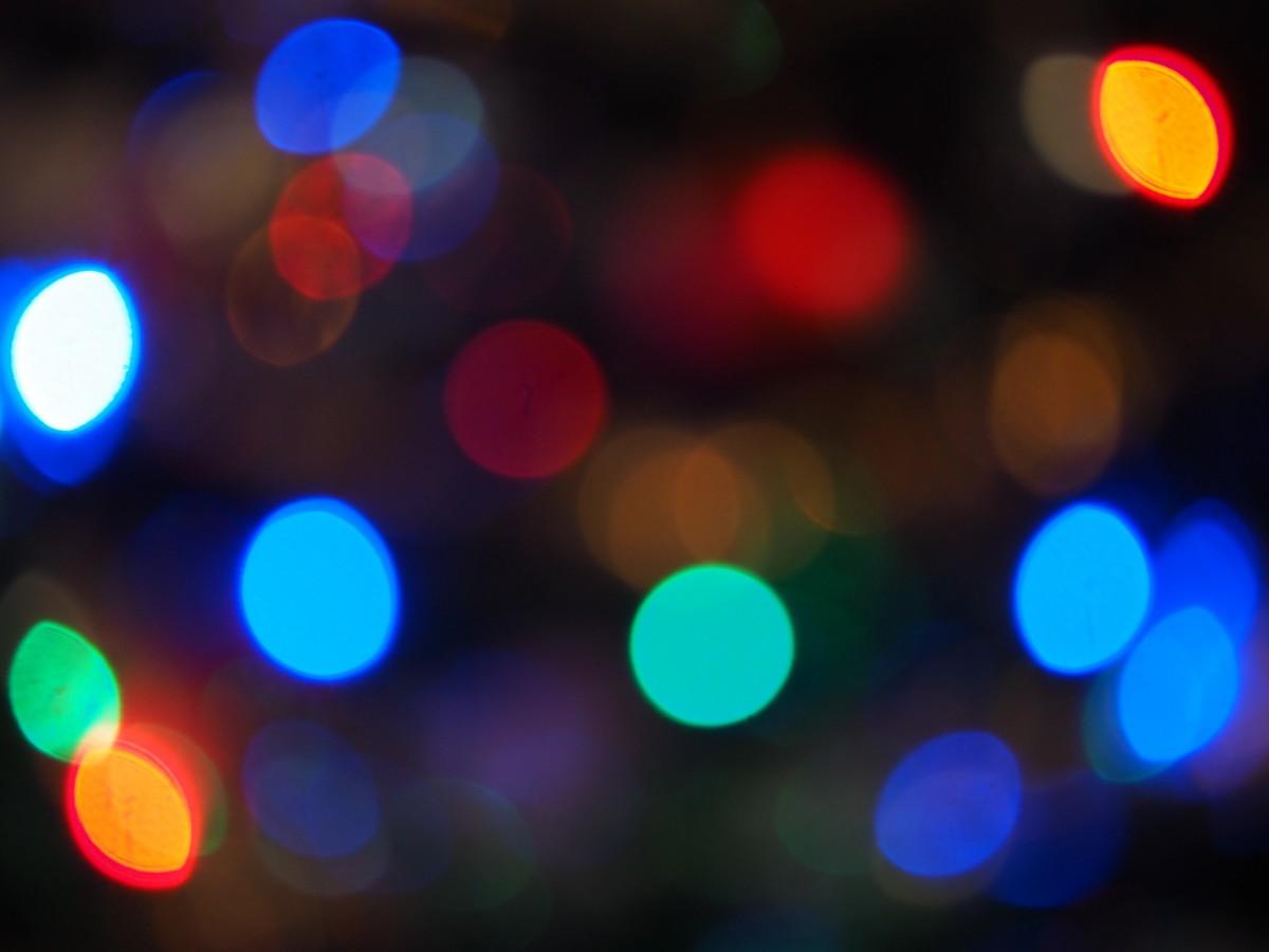 Free Images : bokeh, number, christmas, lighting, circle, lights ...