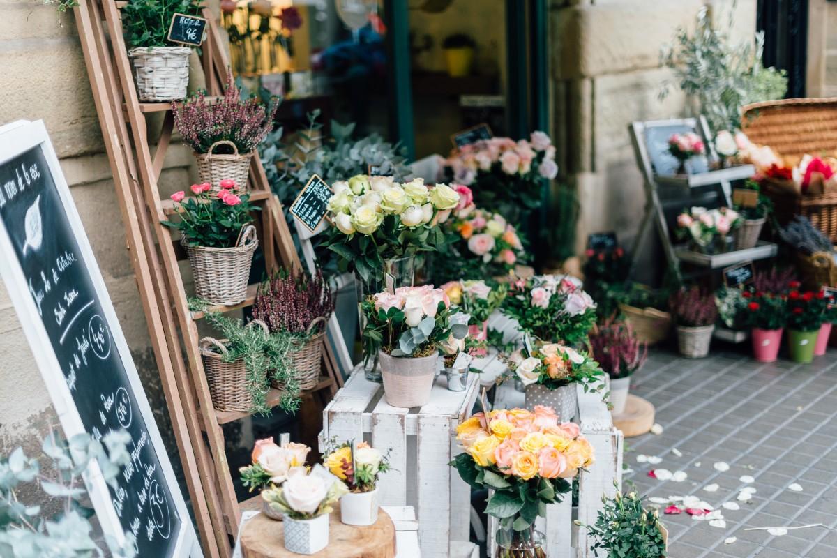 menanam bunga buket toko makan penjual bunga lorong pembentukan dagang Budidaya Bunga eceran desain bunga merangkai bunga