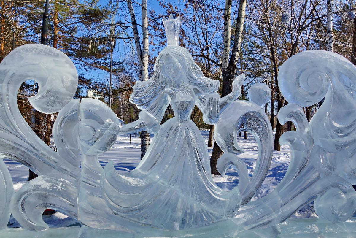 Картинки ледовые скульптуры