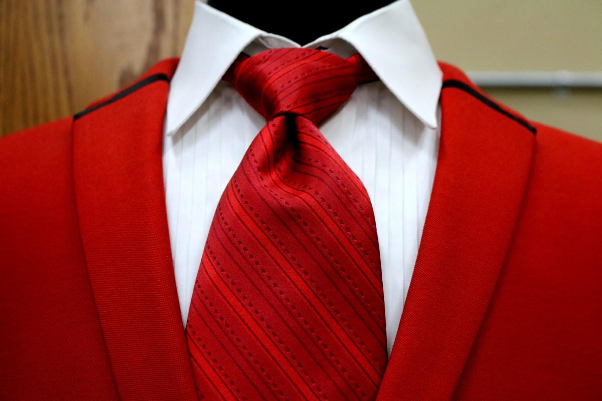 무료 이미지 : 외딴, 빨간, 벨트, 매듭, 견장, 넥타이, 패션 ...