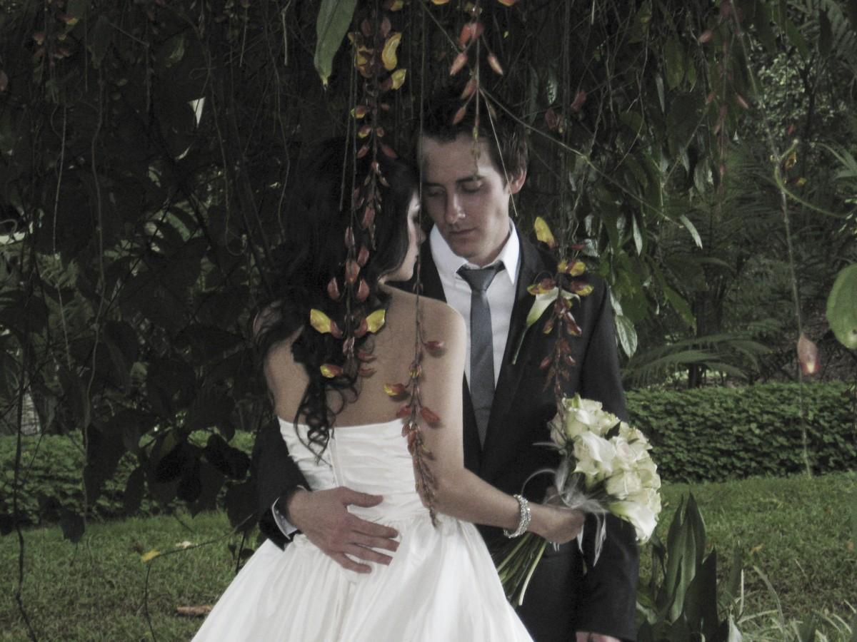 Kostenlose foto : Frau, Liebe, Paar, Romantik, Hawaii, Hochzeit ...