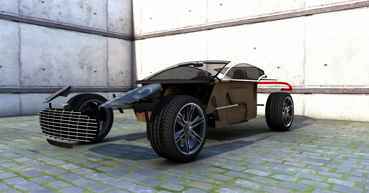 Car, Wheel, Automobile, Vehicle, Hall, Shadow