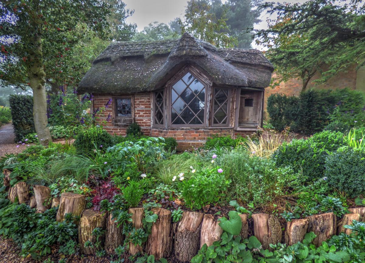 Images gratuites arbre la nature maison pays cabane for Agrandissement maison zone verte