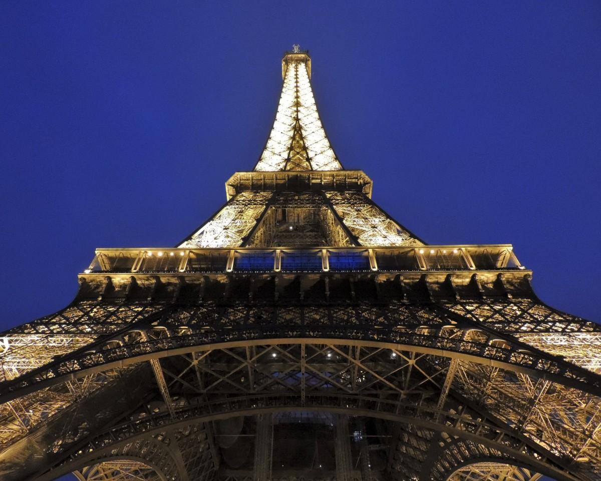 Images gratuites lumi re architecture ciel nuit - Images tour eiffel gratuites ...