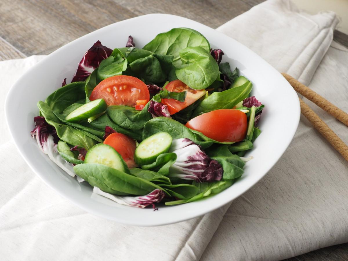 Gratis billeder fad salat gr n fremstille gr ntsag - Green vegetarian cuisine ...