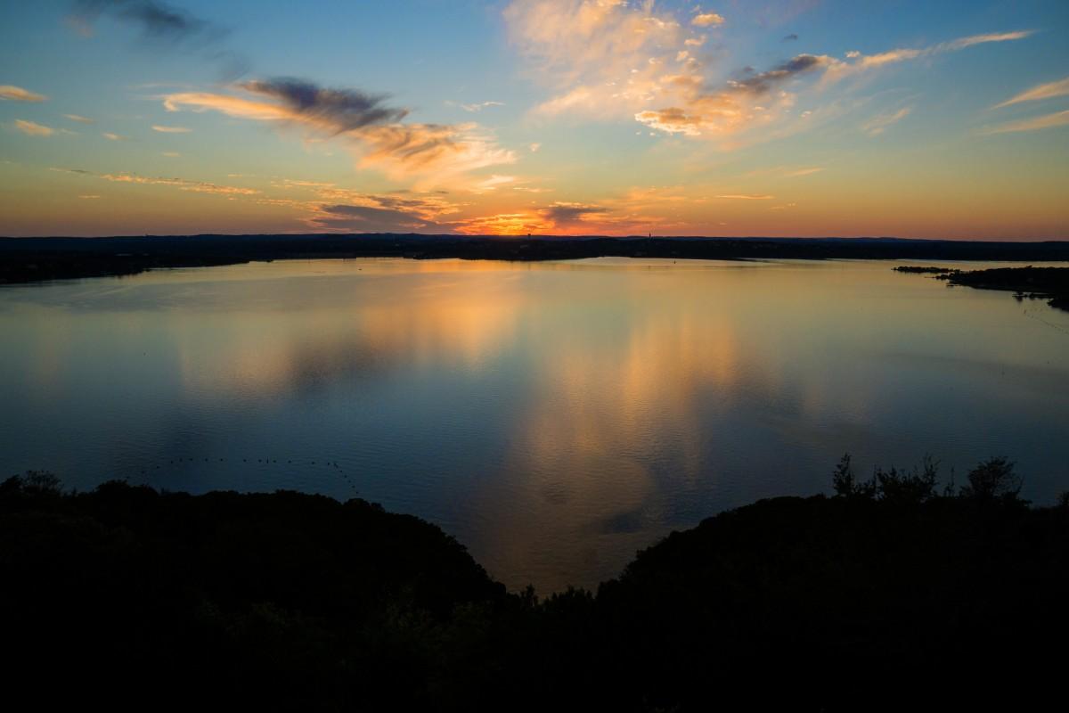 landscape sea water nature horizon cloud sky sun sunrise sunset sunlight morning lake dawn atmosphere dusk evening reflection relax scenic colors loch afterglow austin texas atmospheric phenomenon lake travis