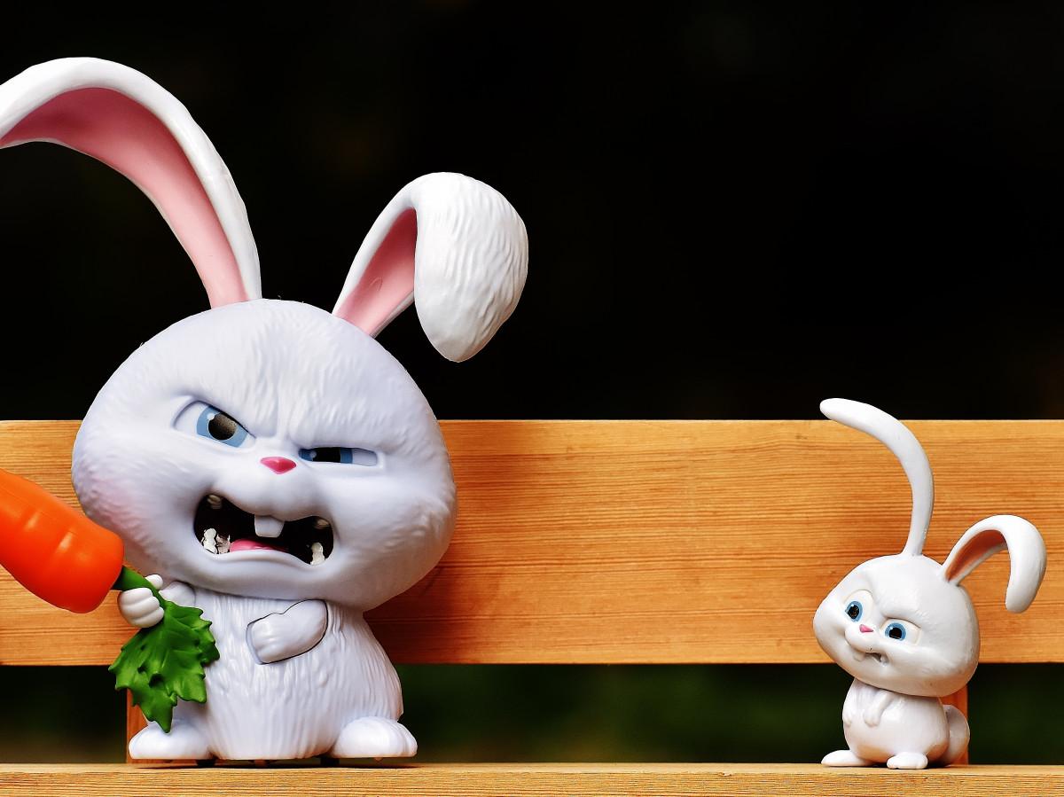 Картинка зубастый кролик