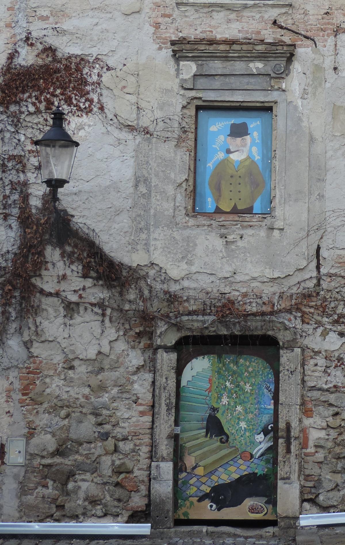 Images gratuites maison fen tre mur vert couleur for Fenetre facade