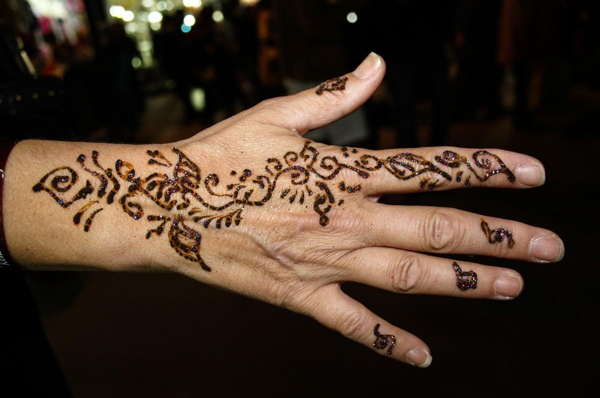 Татуировки на пальцах 60