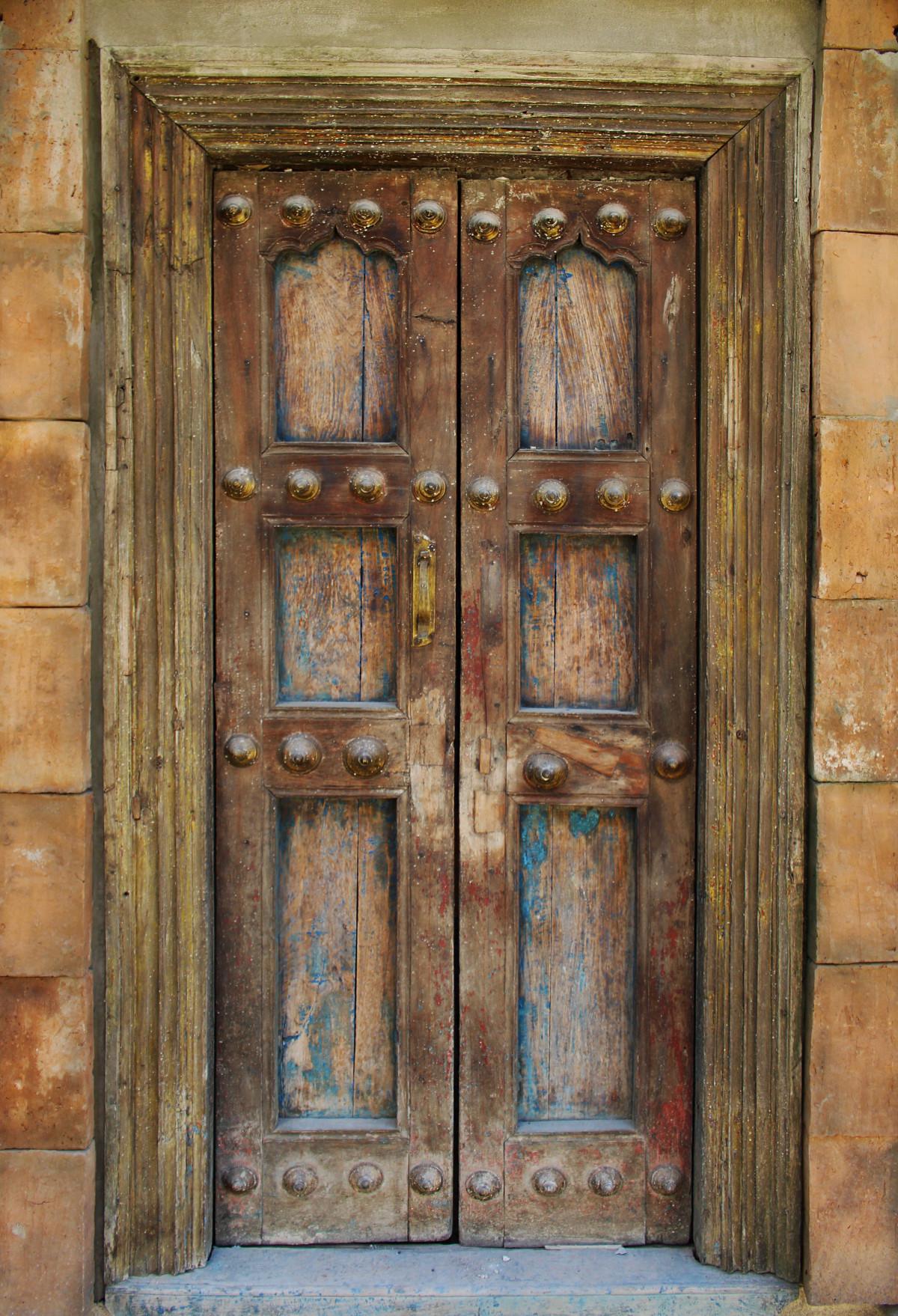 Old Wood Door Handle