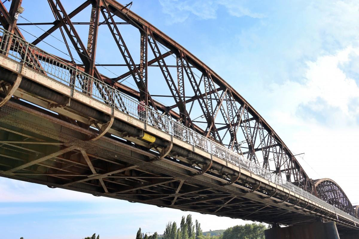 Железнодорожный мост картинка