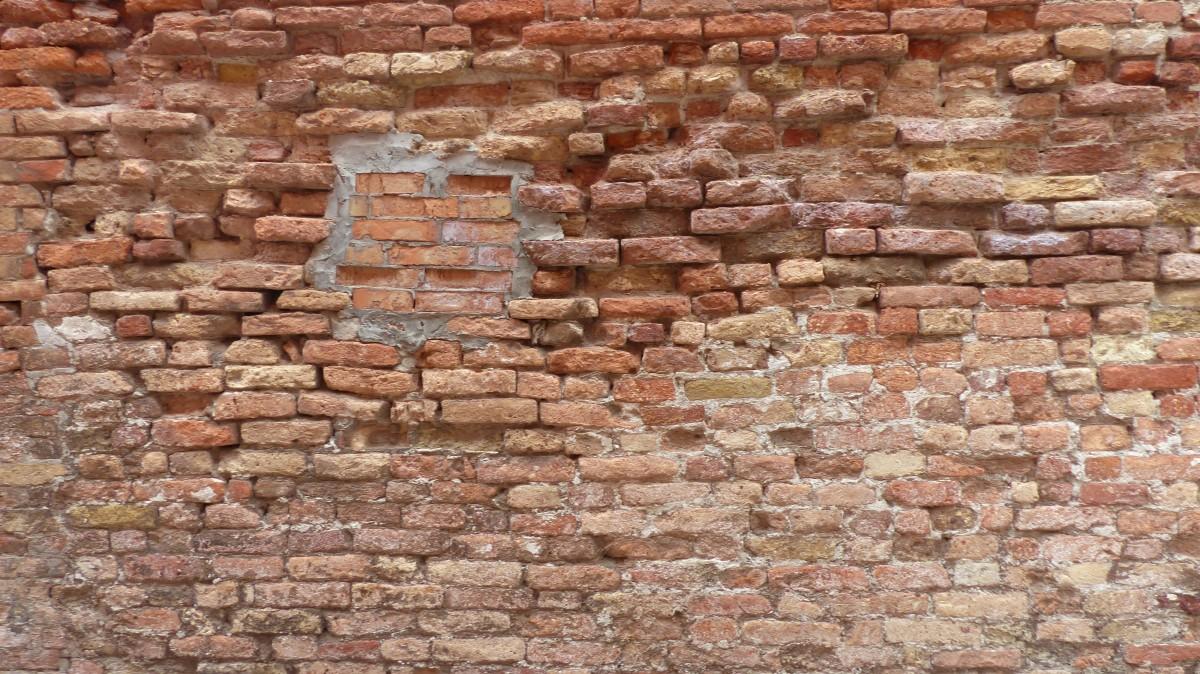 Kostenlose foto rock alt steinwand ziegel material for Boden ziegelsteine