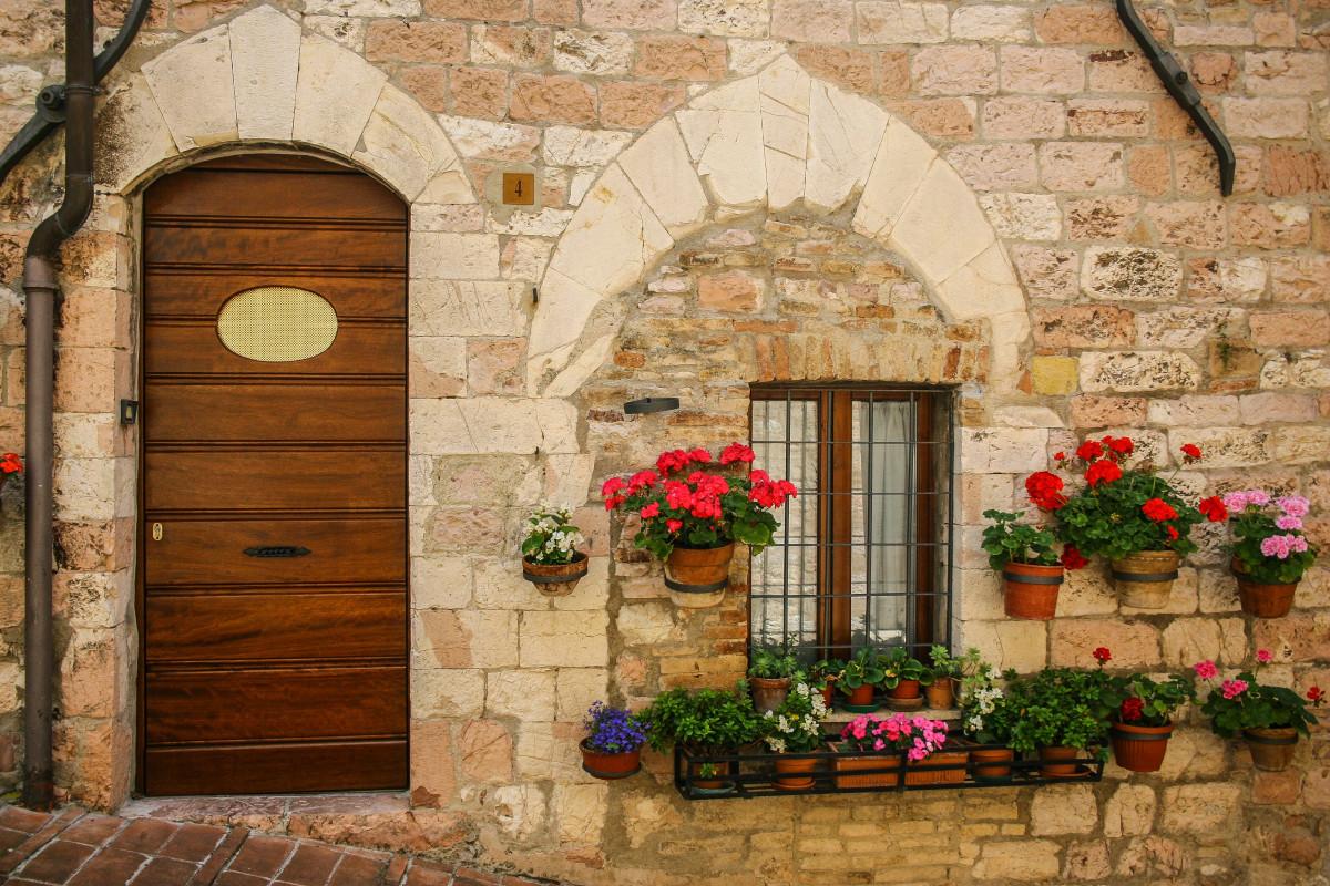 Картинки двери в домах италии всех