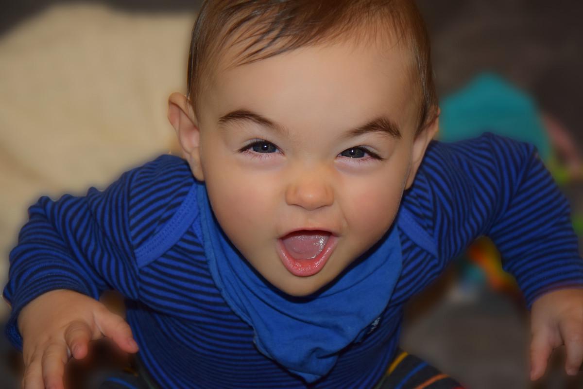 Фото маленького ребёнка лицо
