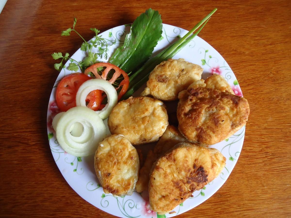 Котлеты из мелкой речной рыбы-рецепт приготовления 16