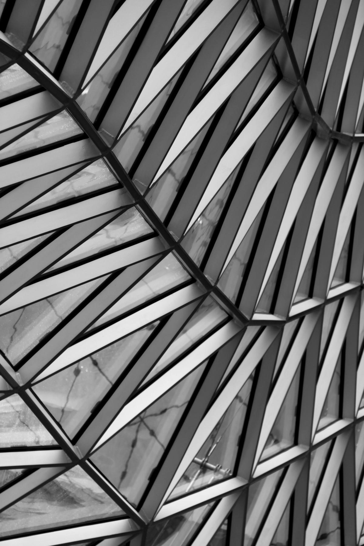 Gambar Hitam Dan Putih Arsitektur Spiral Pencakar