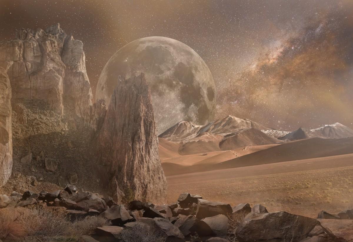 Free Images Rock Desert Barren Desolate Dry Rocky Galaxy