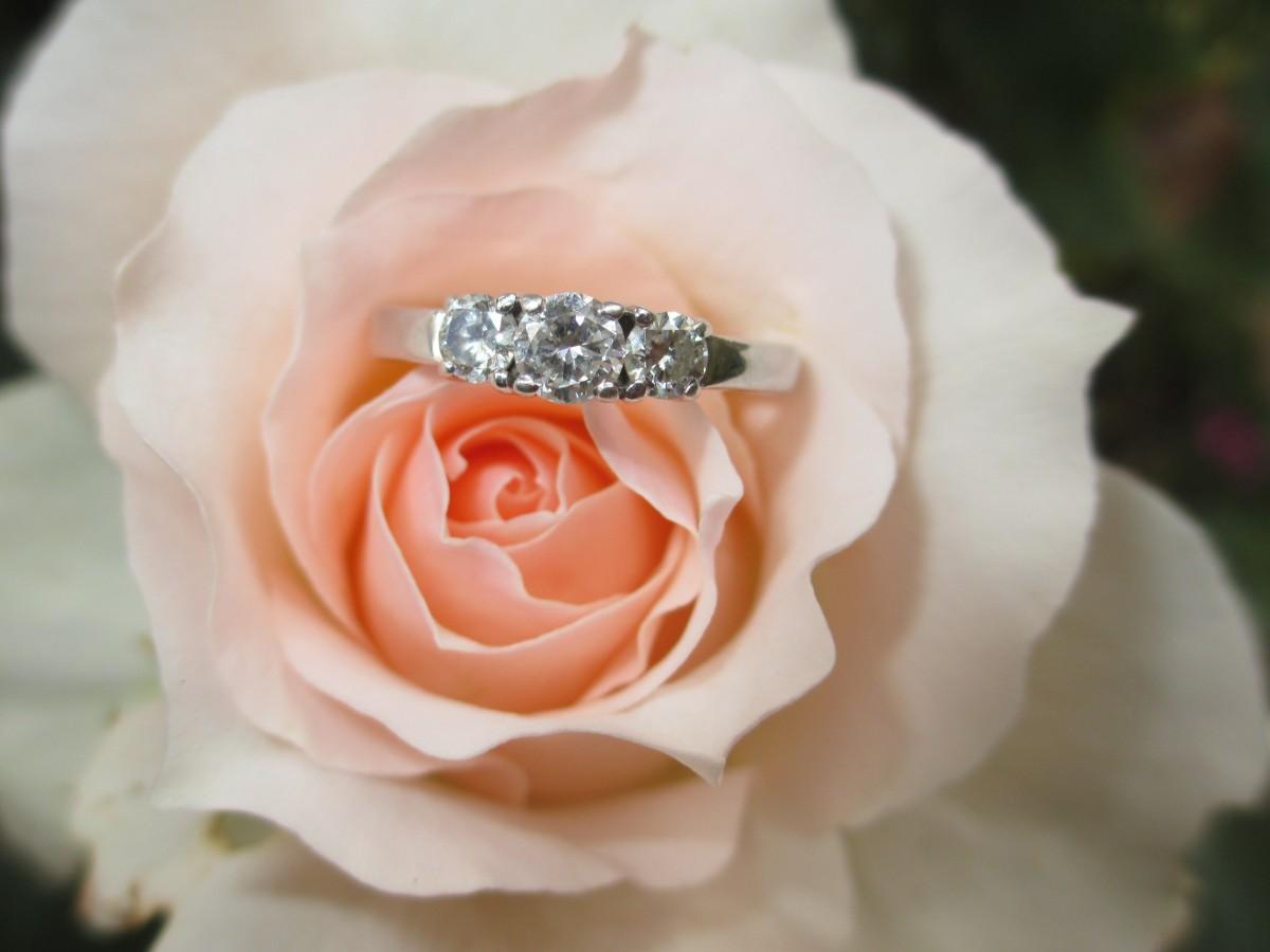Картинки с кольцом и цветами