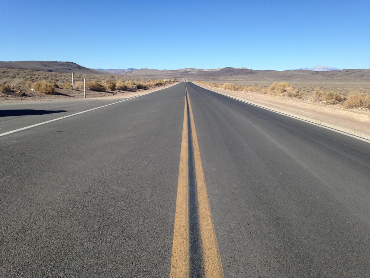 landscape sand horizon road desert highway Free