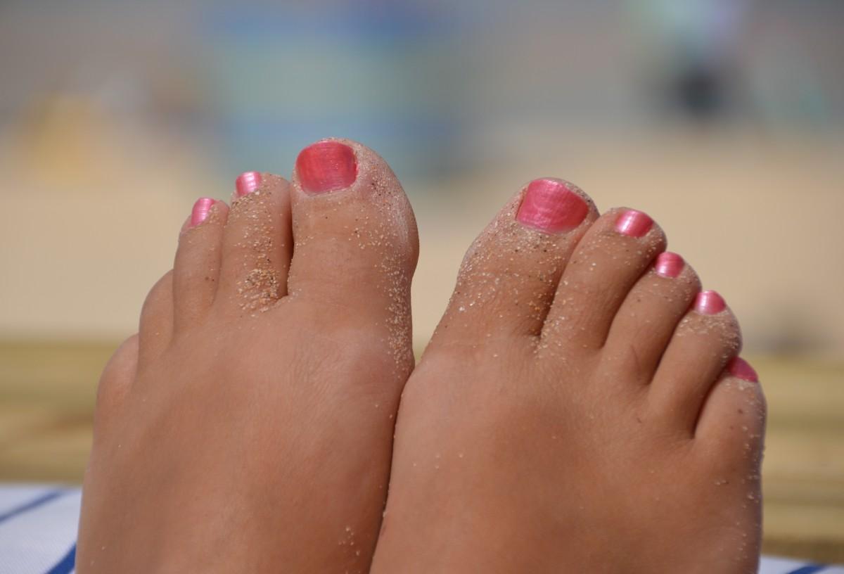 Смотреть фото женских пальчиков ног, Красивые ступни девушек это прекрасно (фото.) 22 фотография