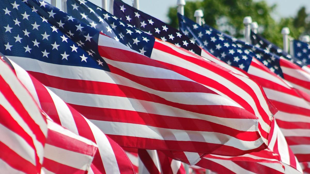 американский флаг фотографии пелеш