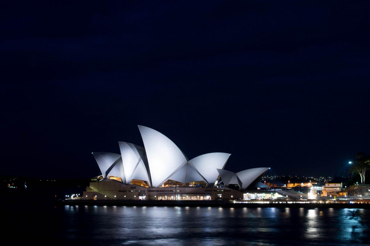 harbour sydney australia operahouse 333488 - 27+ Sydney Opera House Night Photos  Pics