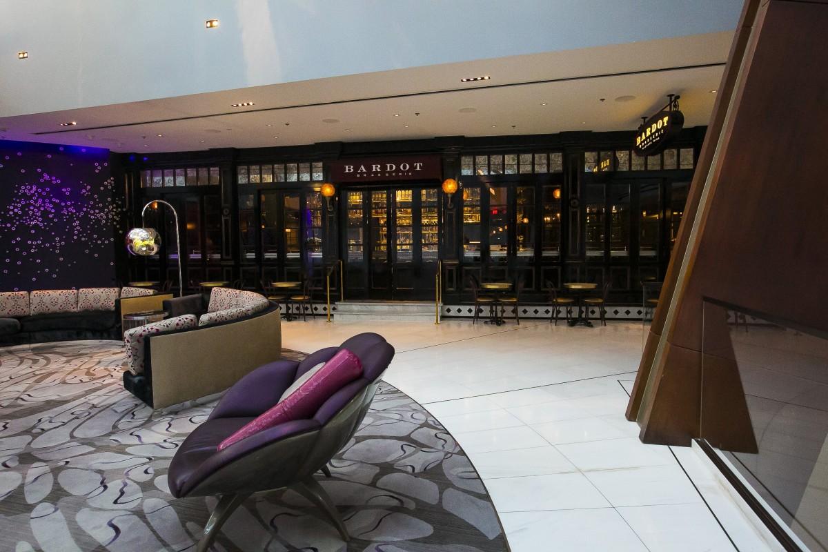 Free images building property interior design hotel resort lobby nevada casino aria for Interior decorator las vegas nv
