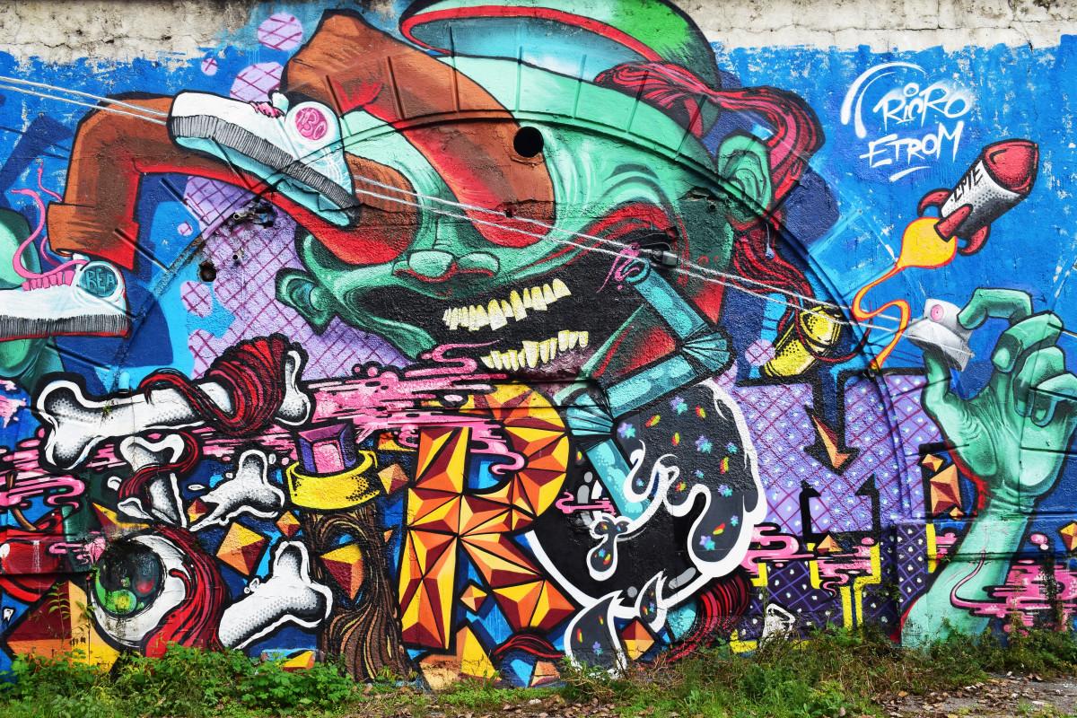 Картинки граффити череповец