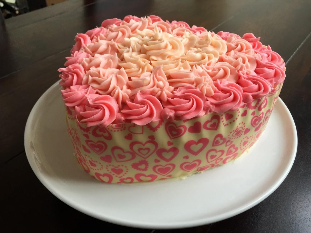 images gratuites fleur c ur aliments produire rose petit g teau dessert g teau d. Black Bedroom Furniture Sets. Home Design Ideas