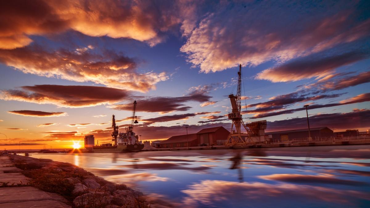 Images gratuites mer horizon nuage ciel soleil lever du soleil le coucher du soleil - Palpitations le soir au coucher ...
