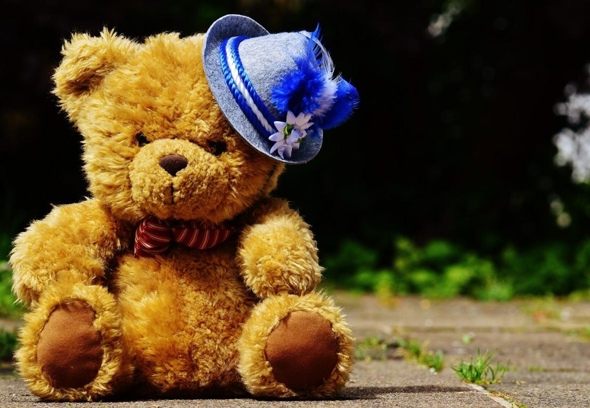 Днем рождения, веселый медвежонок картинки
