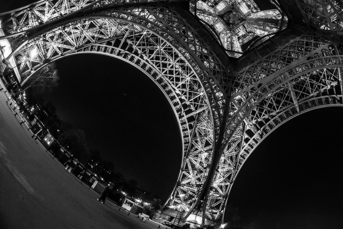 Fotos gratis : ligero, en blanco y negro, noche