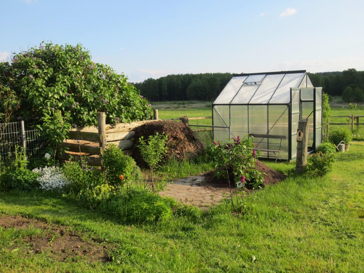 Nature, Farm, Lawn, Cottage, Backyard, Soil