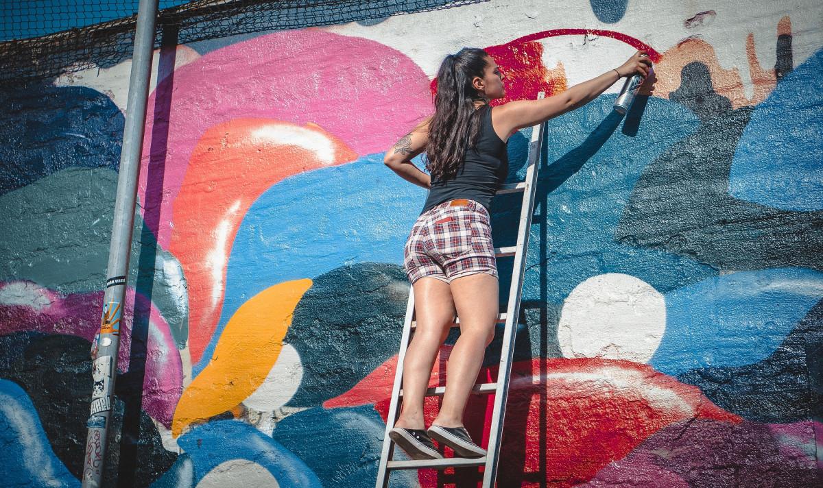 무료 이미지 : 스프레이, 색깔, 예술적, 페인트, 그런지, 낙서 ...