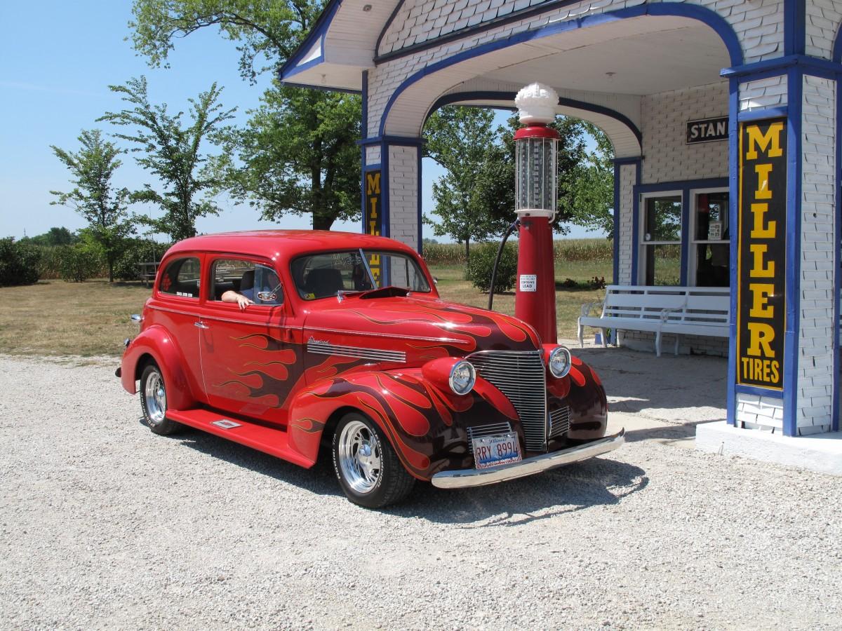 images gratuites rouge chicago v hicule moteur voiture ancienne illinois classique. Black Bedroom Furniture Sets. Home Design Ideas