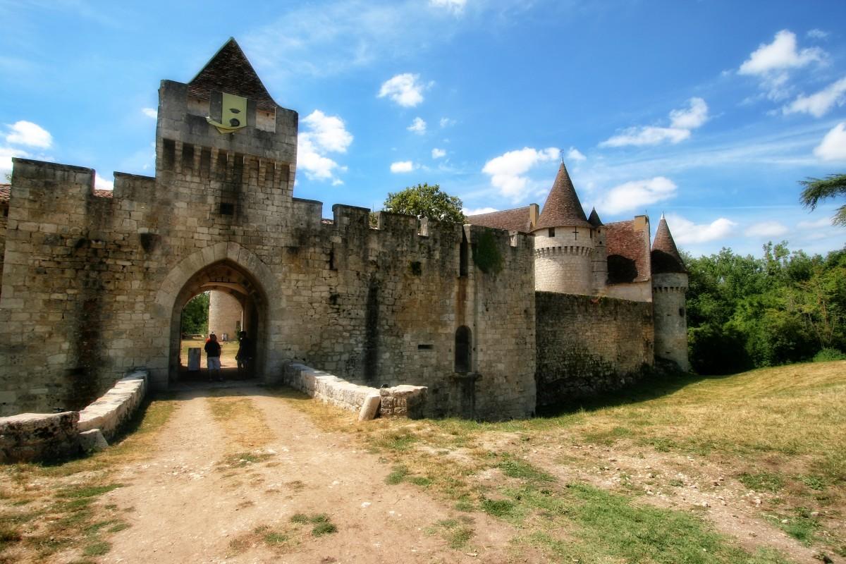 Images gratuites b timent ch teau ville monument france fortification m di val - Couleur autorisee batiment france ...