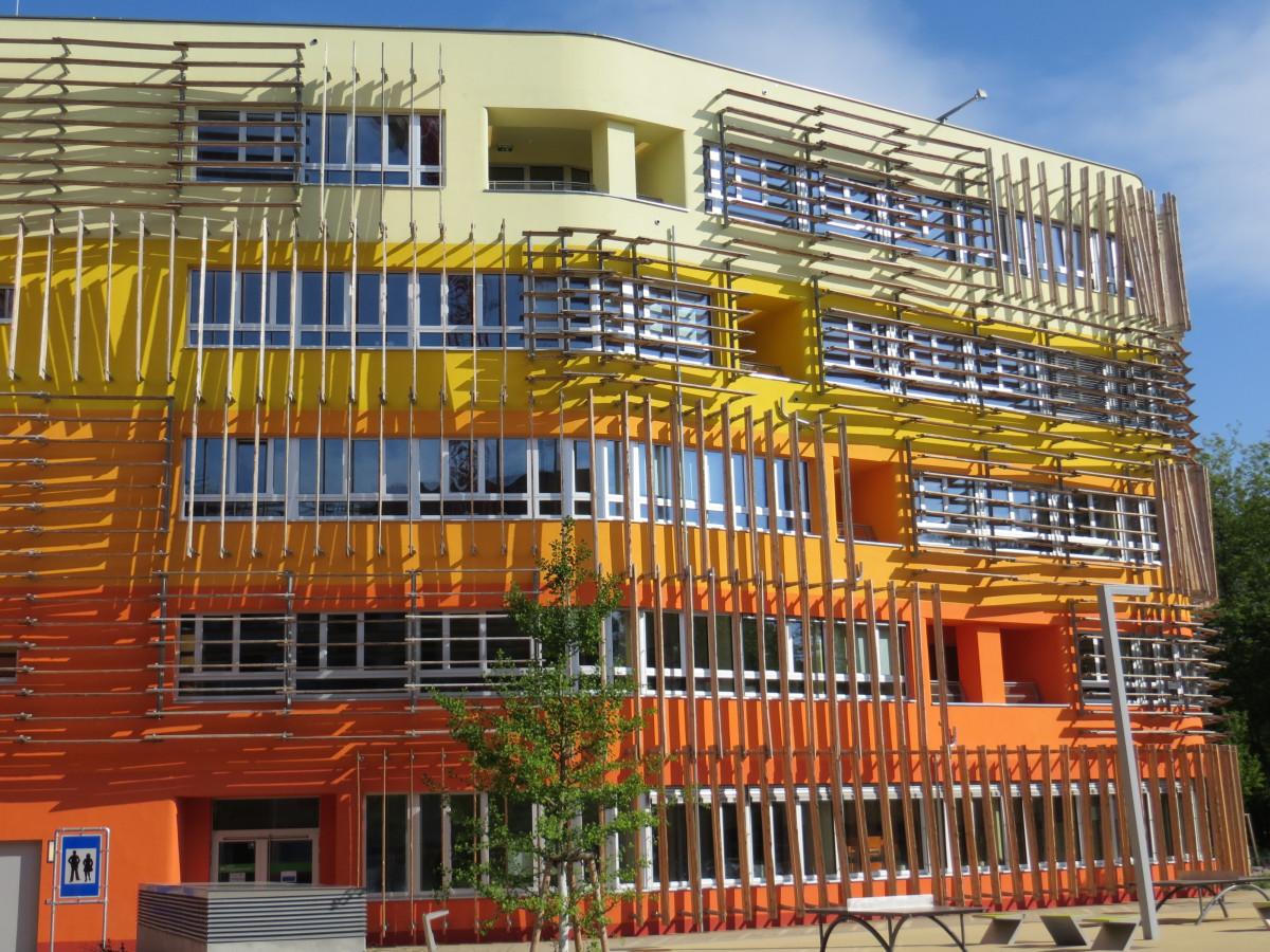 Fotos Gratis Arquitectura Naranja Plaza Fachada