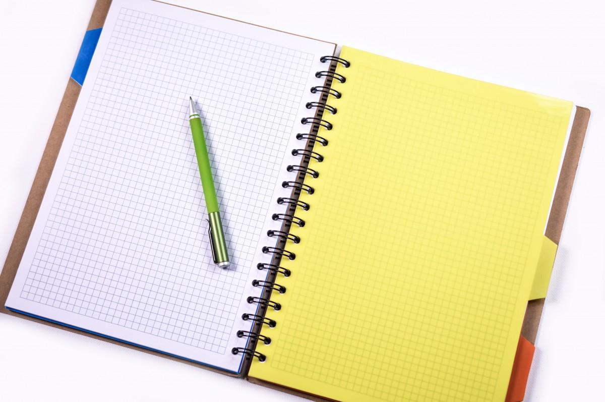 Картинки тетради и ручки